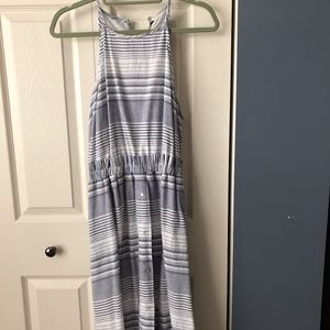 A New Day from Target Striped Dress Large NWT